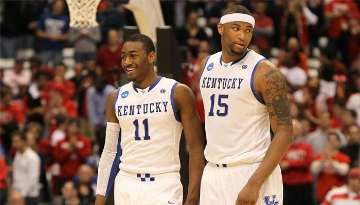 DeMarcus Cousins et John Wall évoluait ensemble à Kentucky