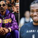 NBA – Snoop Dogg, fan des Lakers, dévoile le cadeau offert par… Kawhi Leonard