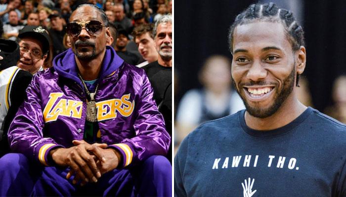 Kawhi Leonard a offert de belles chaussures à son ami Snoop Dogg, pourtant fan des Lakers NBA