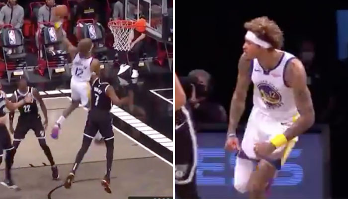 Kelly Oubre domine Kevin Durant