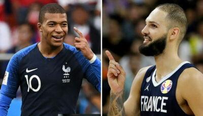 NBA – Evan Fournier réagit à une séquence virale de Kylian Mbappé