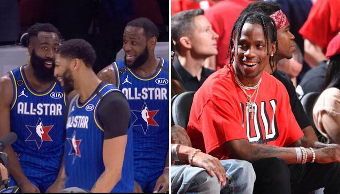 Travis Scott a fait un cadeau à plusieurs joueurs NBA pour Noël