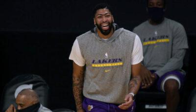 NBA – Davis révèle l'autre joueur que LeBron qu'il admire aux Lakers