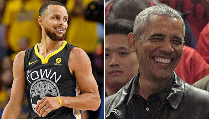 Stephen Curry veut emprunter l'arrogance de Barack Obama