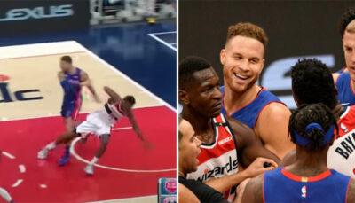 NBA – Échauffourée après une prise de catch de Blake Griffin en plein match !