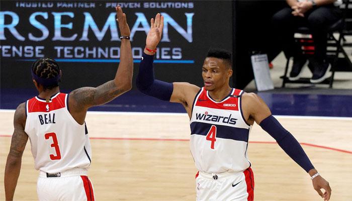 Les débuts de Russell Westbrook avec Bradley Beal et les Wizards NBA
