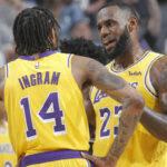 NBA – Brandon Ingram envoie un énorme tacle à LeBron James !