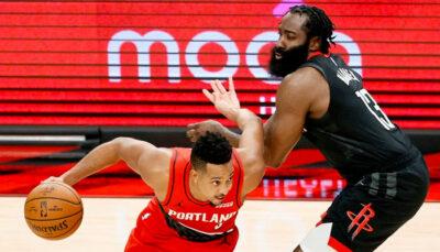 NBA – La fin de match complètement folle entre Harden et McCollum !