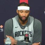 NBA – DeMarcus Cousins sera remplaçant aux Rockets, il réagit