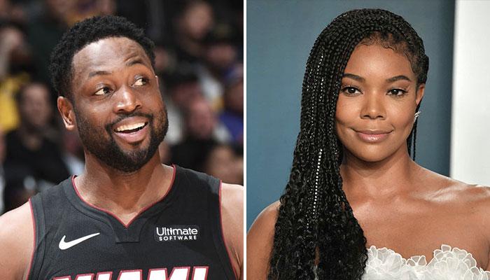 La légende NBA du Miami Heat, Dwyane Wade, et sa femme, Gabrielle Union
