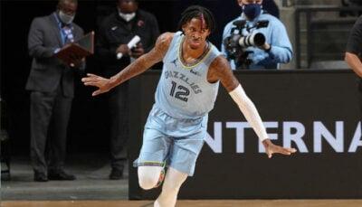 NBA – Ja Morant sur le rythme de 4 Hall-of-Famers !