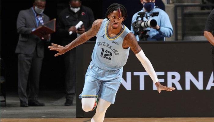 Record en carrière, gros dunk : Ja Morant régale dès son premier match ! NBA