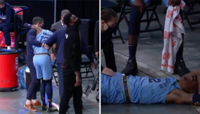 NBA – Les images impressionnantes de la vilaine blessure de Ja Morant