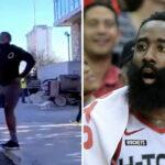 NBA – James Harden alpagué en pleine rue par un fan à propos de son avenir