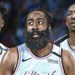 NBA – Le trade à 3 équipes et 9 joueurs qui enverrait James Harden au Heat