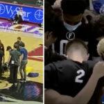 NBA/NCAA – Un joueur s'écroule en plein match, terreur dans la salle