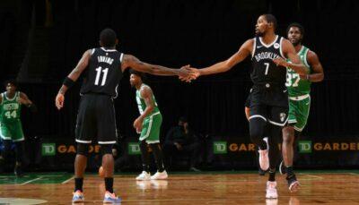 NBA – Kyrie et KD explosent les records face à Boston