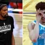 NBA – Kevin Durant félicite LaMelo Ball sur un choix polémique