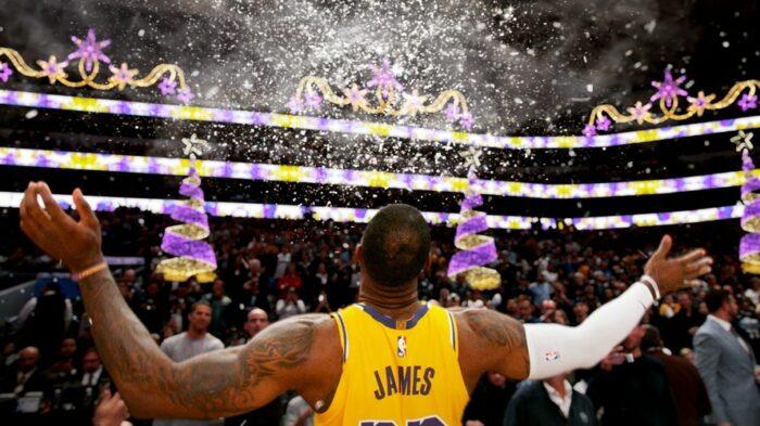 LeBron James savoure la magie de Noël