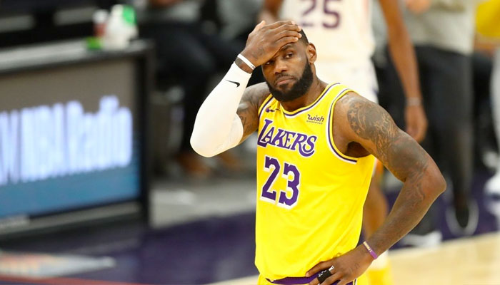 LeBron James chez les Lakers