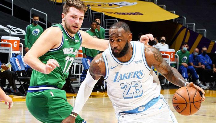 LeBron remporte son duel contre Luka Doncic ! NBA