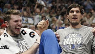 NBA – La punchline délirante de Boban sur son duo avec Doncic