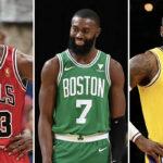 NBA – Le joueur totalement méconnu qui est le GOAT selon Jaylen Brown