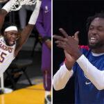 NBA – Montrezl Harrell se rate… Kawhi et Pat Bev se moquent !
