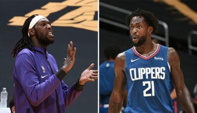 NBA – Montrezl Harrell réagit au trash-talking de Pat Beverley