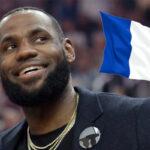 NBA – LeBron euphorique après un cadeau 100% Français !