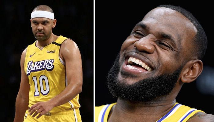 LeBron James Lakers retour Jared Dudley