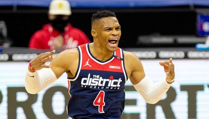 Russell Westbrook en colère après son match catastrophique NBA