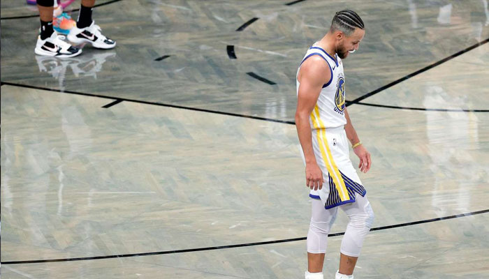Dépité, Steph Curry réagit à la raclée subie par les Warriors NBA