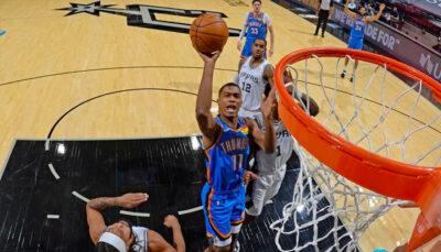 Théo Maledon réagit à son carton pour son premier match NBA