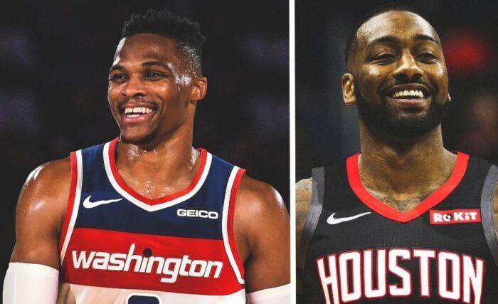 Russell Westbrook transféré aux Wizards, John Wall aux Rockets !