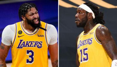 NBA – Le sujet de discorde entre Anthony Davis et Montrezl Harrell
