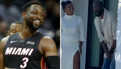 NBA – Dwyane Wade reçoit un incroyable cadeau de sa femme pour son anniversaire