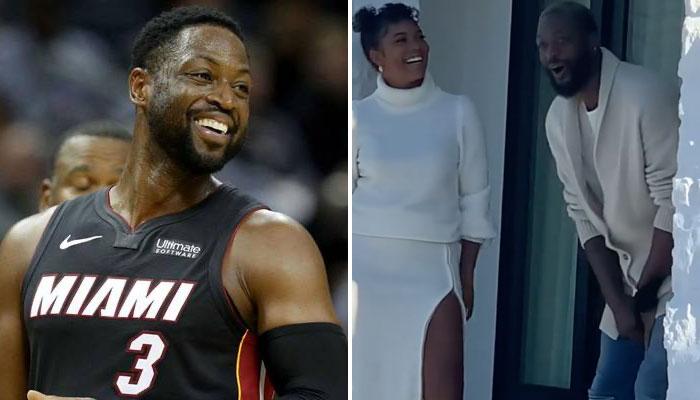 Dwyane Wade a été surpris par le cadeau de sa femme Gabrielle Union NBA