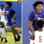 HS/NBA – Le colosse Big Jah domine outrageusement en tournoi !