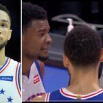 NBA – Ben Simmons brusqué en plein match : « T'es une p*te, ferme-là »
