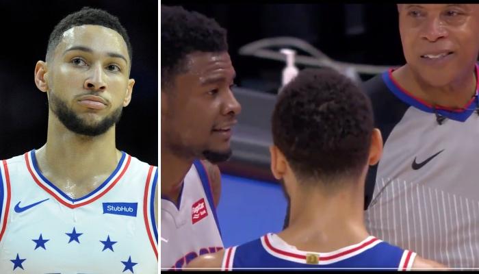Ben Simmons a été chahuté par Josh Jackson des Pistons NBA