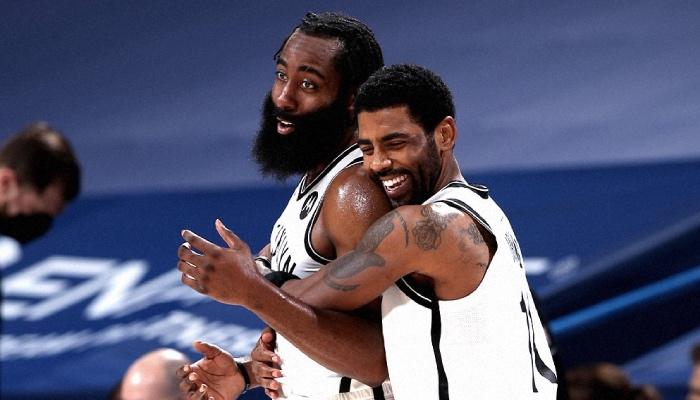 James Harden et Kyrie Irving s'entendent de mieux en mieux à Brooklyn avec les Nets