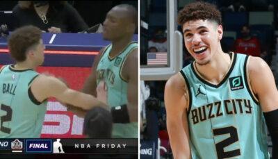NBA – Séquence dérangeante entre LaMelo Ball et un de ses coéquipiers