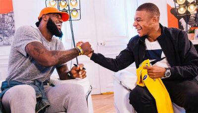NBA – LeBron révèle des images bouillantes de sa collab' avec Mbappé