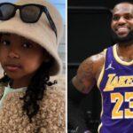 NBA – LeBron estomaqué devant la demande de sa fille Zhuri… à 6 ans !