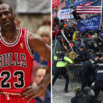 NBA – Un ancien coéquipier de Michael Jordan présent à la manif pro-Trump !
