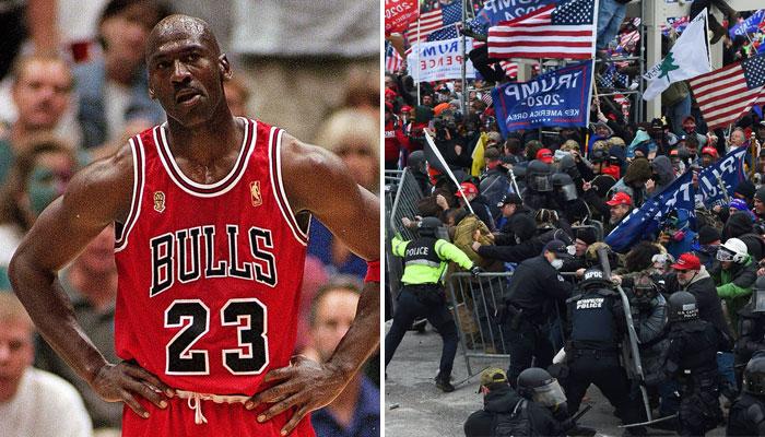 Michael Jordan doit être fou de rage face aux images de son ancien coéquipier David Wood
