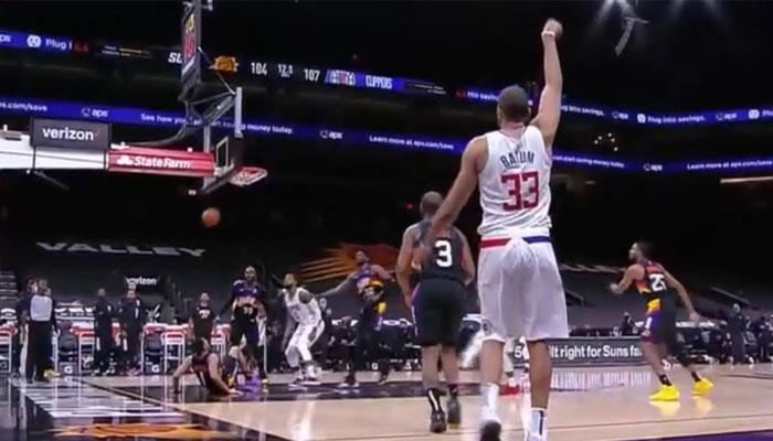 Nicolas Batum a été clutch face aux Suns en mettant le dagger dans le corner NBA