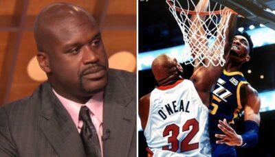 NBA – Shaq perd les pédales en DM et insulte un artiste défendant Donovan Mitchell