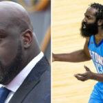 NBA – Shaq carbonise James Harden dans une tirade musclée